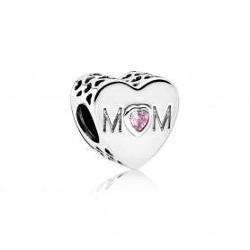 Conta PANDORA Coração de Mãe – 791881PCZ