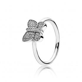 Anel PANDORA Sparkling Butterfly – 190938CZ