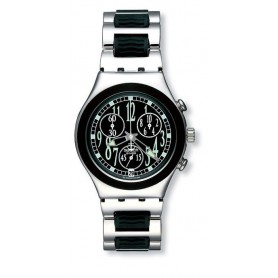 ce0a5e33e18 Relógio Swatch Irony Chrono Black Move - YCS459G