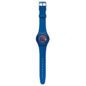 Relógio Swatch Originals New Gent Indigo Lacquered - SUON101