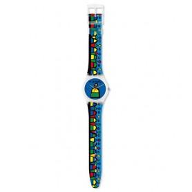 Relógio Swatch Originals Gent A Escola - GK333