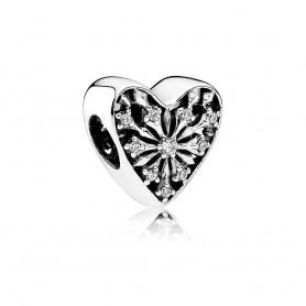 Conta PANDORA Coração de Inverno – 791996CZ
