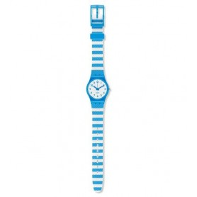 Relógio Swatch Originals Lady Blue Tracks - LS113