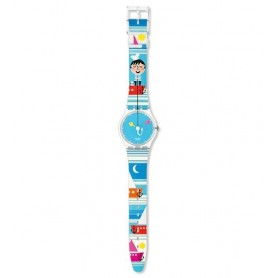 Relógio Swatch Originals Gent Fisher Boat - GE176