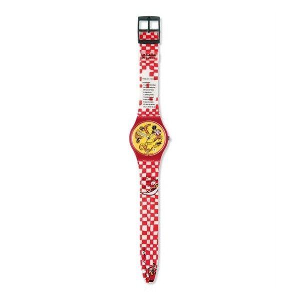 Relógio Swatch Originals Gent Vamos Comer - GR141