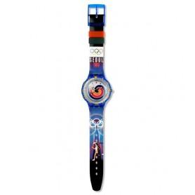 Relógio Swatch Originals Scuba Seoul - SDZ100