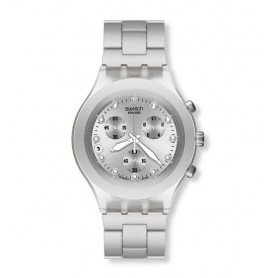 Relógio Swatch Irony Diaphane Full-Blooded Silver - SVCK4038G