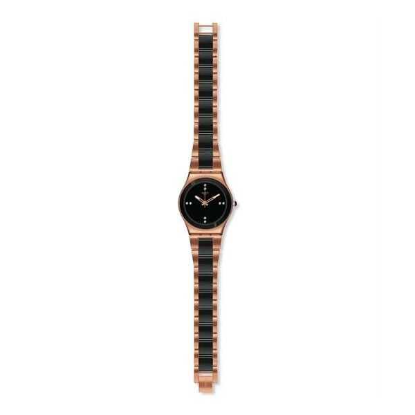Relógio Swatch Irony Medium Rose Pearl Black - YLG123G
