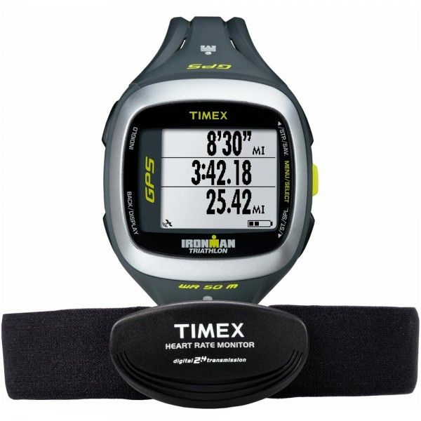 Relógio Timex Ironman Run Trainer 2.0 GPS Elite  - T5K743F7