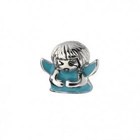 Conta SilveRado Kidz Anjinho da Guarda Azul - CH2572-BL