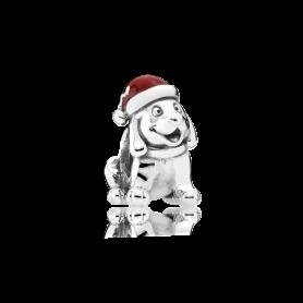 Conta PANDORA Cão de Natal – 791769EN39