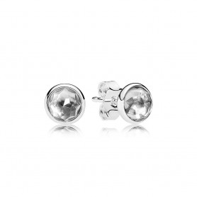 Brincos PANDORA Droplets Abril – 290738RC