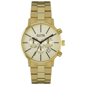 Relógio Eletta Flow Gold - ELA580MCMG