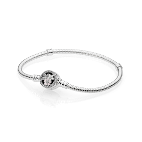 Pulseira PANDORA Moments Poetic Blooms – 590744CZ