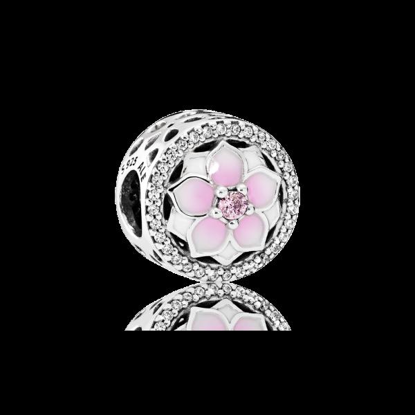 Conta PANDORA Botão Magnolia – 792085PCZ