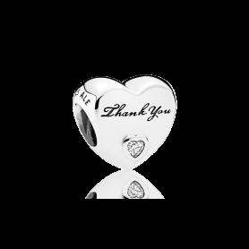 Conta PANDORA Obrigado – 792096CZ