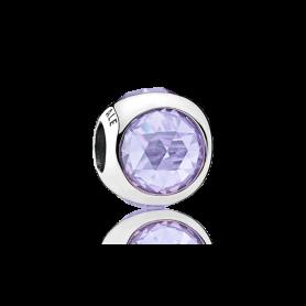 Conta PANDORA Radiant Droplet Lilás – 792095LCZ