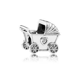 Conta PANDORA Carrinho de Bebé – 792102CZ