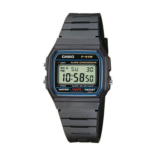 Relógio Casio Collection - F-91W-1YER