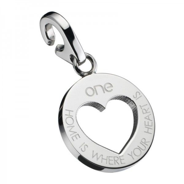 Pendente One Jewels Energy for Life Home is Where your Heart is - OJEBC037