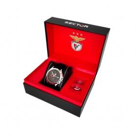 Relógio Sector 720 Sport Lisboa Benfica 113 Anos Edição Limitada - R3271687013