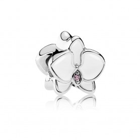 Conta PANDORA Orquídea Branca - 792074EN12