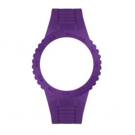 Bracelete Anjewels Básica Pop Watch Violeta 43 mm - AW.BVLN
