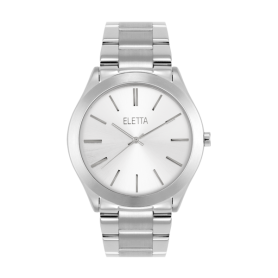 Relógio Eletta Bright Silver - ELA640LBM