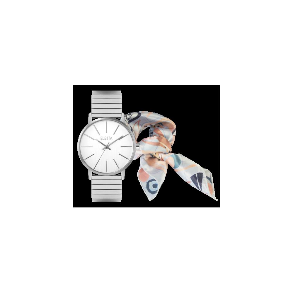 Relógio Eletta Tribute Silver Pack Edição Limitada Violeta Cor-de-Rosa - ELA610LBMS