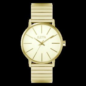 Relógio Eletta Tribute Gold - ELA610LCMG