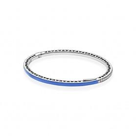 Escrava PANDORA Radiant Hearts Azul - 590537EN82