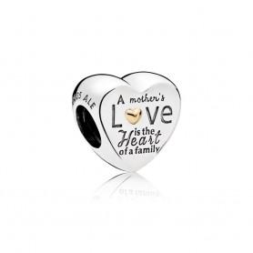 Conta PANDORA Coração da Família - 796265