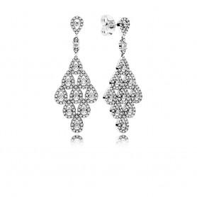 Brincos PANDORA Cascading Glamour - 296201CZ