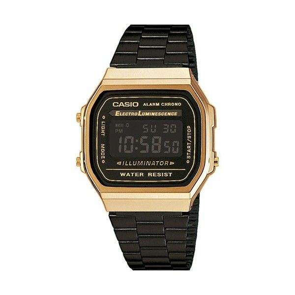 c14322f4884 Relógio Casio Collection Digital - A168WEGB-1BEF