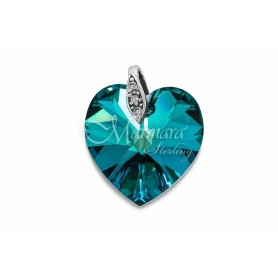 Pendente Marmara Heart Cristal Swarovski - MAR-RP231