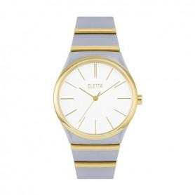 Relógio Eletta Light Silver & Gold - ELA570LBMT
