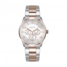 Relógio Eletta Westcoast Silver Rose - ELA270MBMT