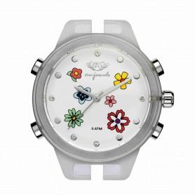 Relógio Anjewels Pop Watch Flores 38 mm - AW.HSFB
