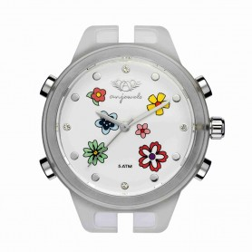 Relógio Anjewels Pop Watch Flores 38 mm - AW.HSFB