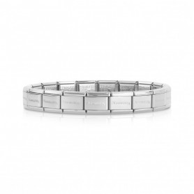 Pulseira Nomination Composable Classic Starter Prateada - 030000/SI