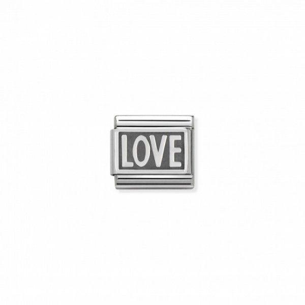 Link Nomination Composable Classic Love - 330102/03