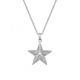 Colar Hot Diamonds Christmas Star - DP664