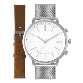 Relógio Eletta Sync Silver - ELA720SBMS