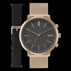 Relógio Eletta Sync Black & Rose - ELA720SPMR