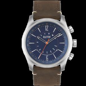Relógio Eletta Sync Brown & Blue - ELA700SACS
