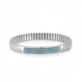 Pulseira Nomination Extension Glitter Azul - 043210/006