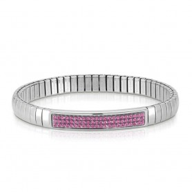 Pulseira Nomination Extension Glitter Rosa - 043210/030