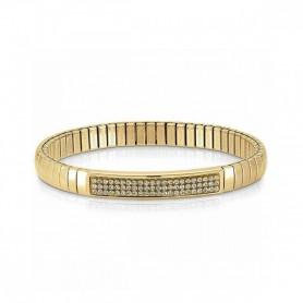 Pulseira Nomination Extension Glitter Dourado - 043212/024