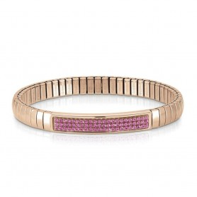 Pulseira Nomination Extension Glitter Rosa - 043213/030