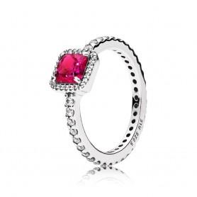 Anel Pandora Timeless Elegance Vermelho - 190947SRU